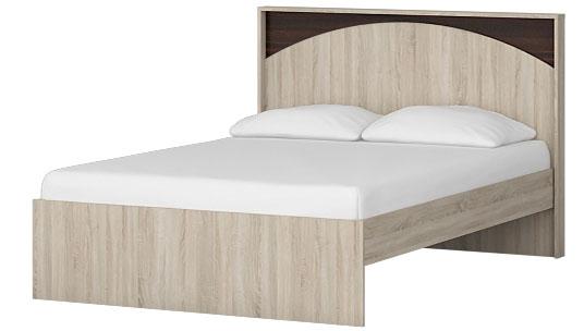 Кровать Омскмебель Ева с поддоном ЛДСП (120), Кр86