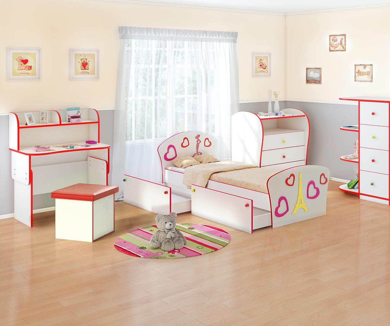 Кровать Орматек Соната Kids Плюс для девочек