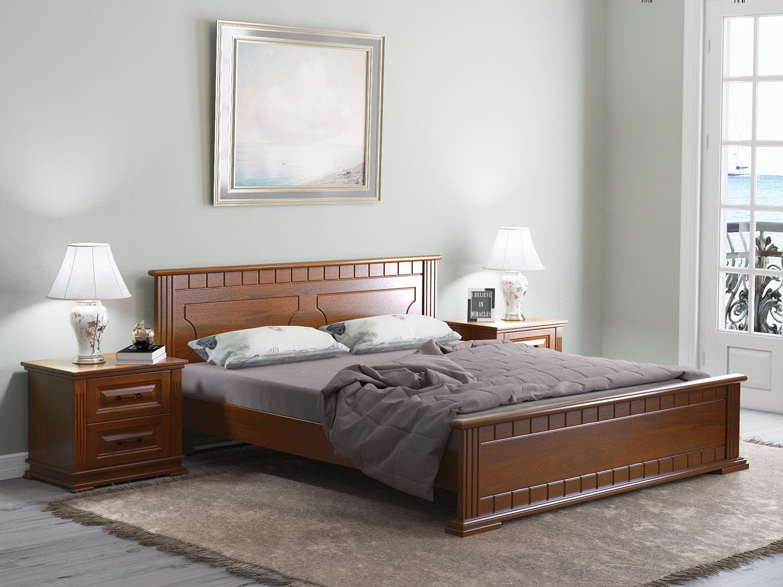 Кровать Райтон Венеция сосна