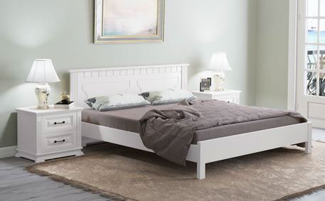 Кровать Райтон Венеция-тахта береза (белый, слоновая кость)