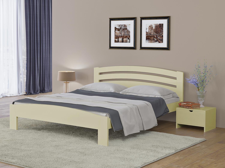 Кровать Райтон Веста 2М береза (белый, слоновая кость)