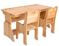 Детские парты Абсолют мебель