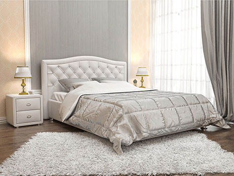 Кровати из ткани/кожи Perrino