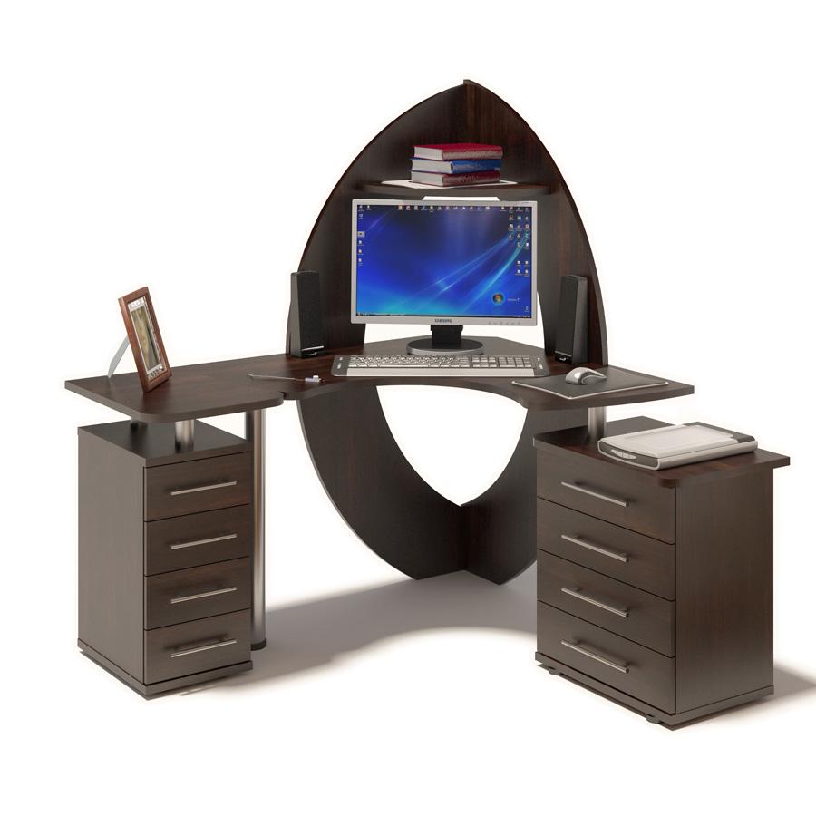 Стол компьютерный Сокол КСТ-101 + КТ-101.1 + КТ-102