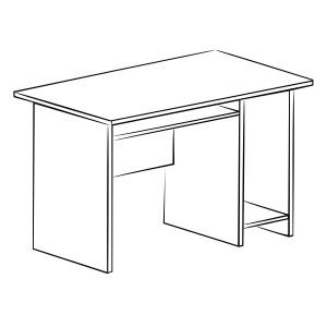 Стол компьютерный Витра 41(42).49