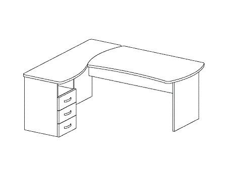 Компьютерные столы Дэфо