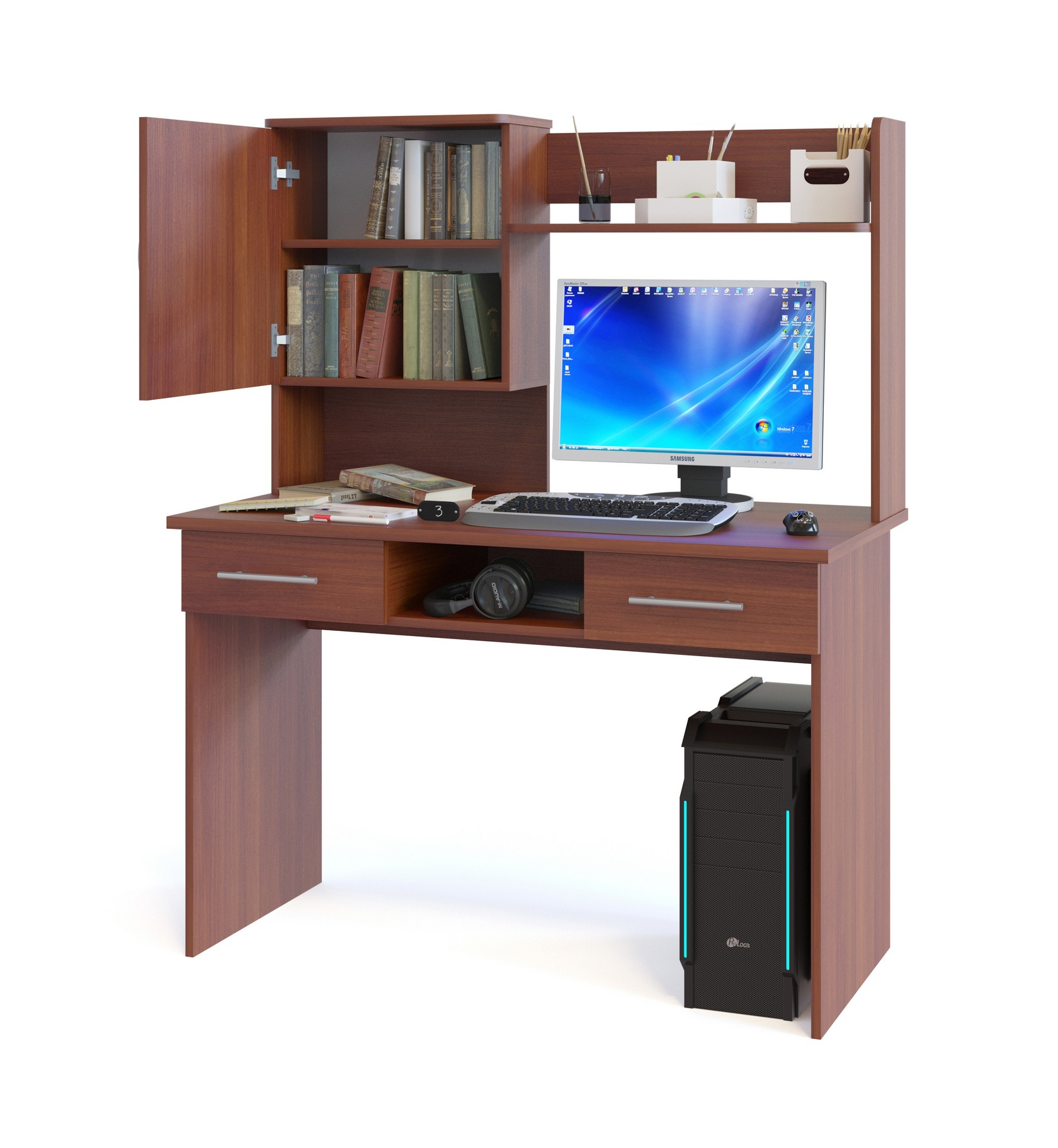 Компьютерный стол Сокол КСТ-107.1+КН-24