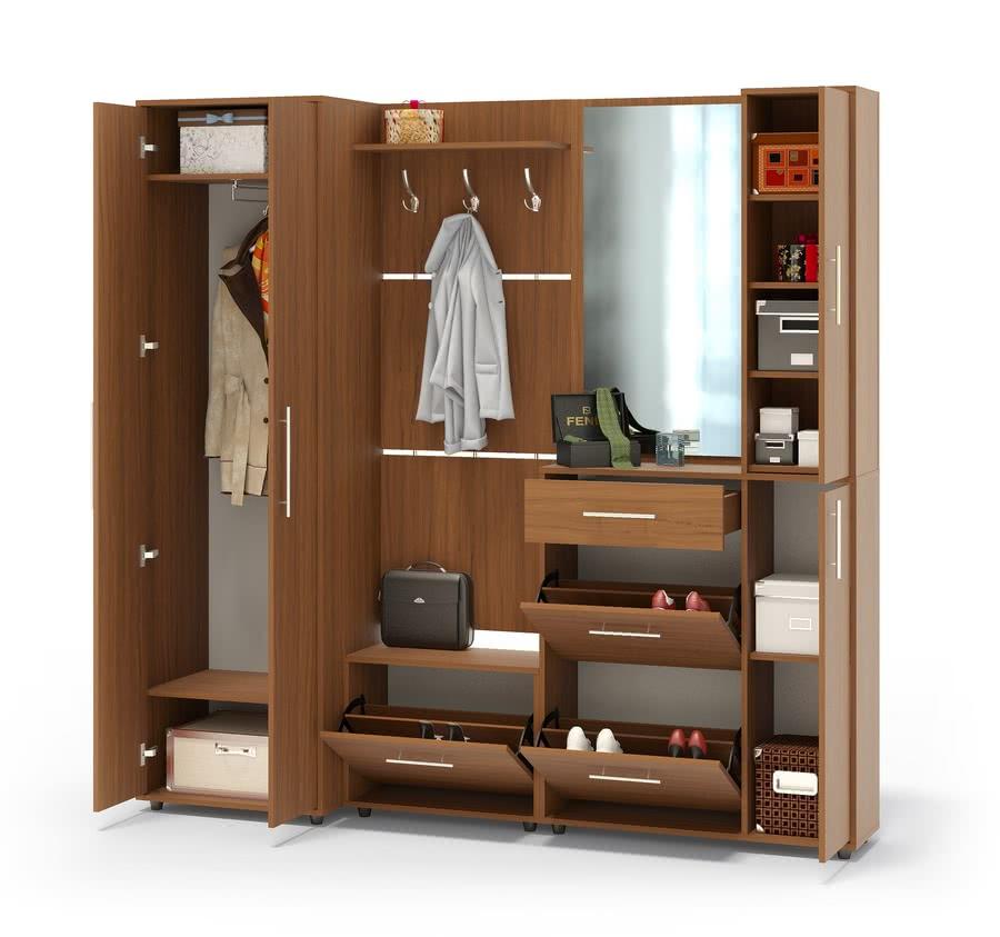 Шкафы для одежды в прихожую фото