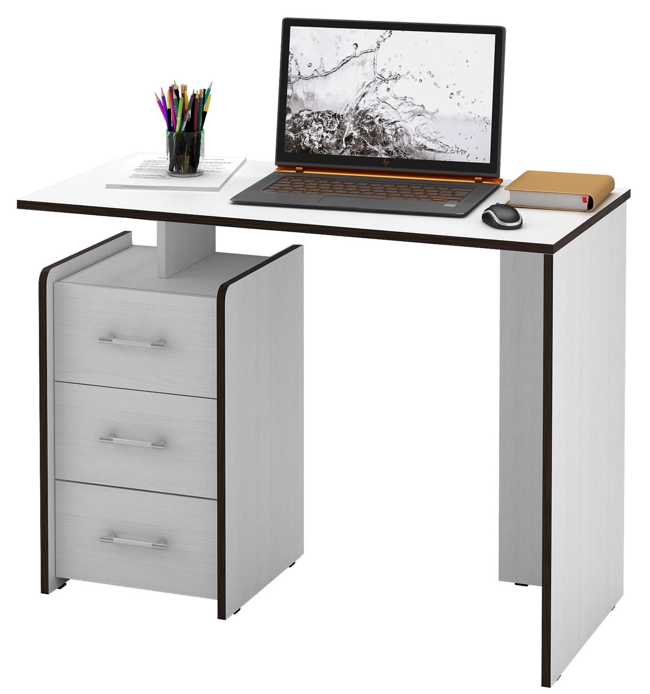 Компьютерный стол МФ Мастер Слим-1 прямой