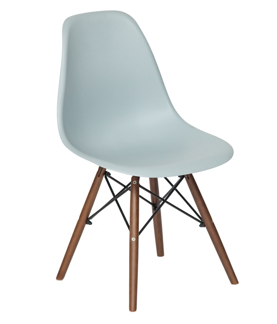 Стул для кухни Tetchair Eames Wood CC Серый