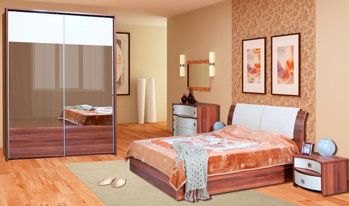 Бежевая спальня с мебелью Болеро (RADO)