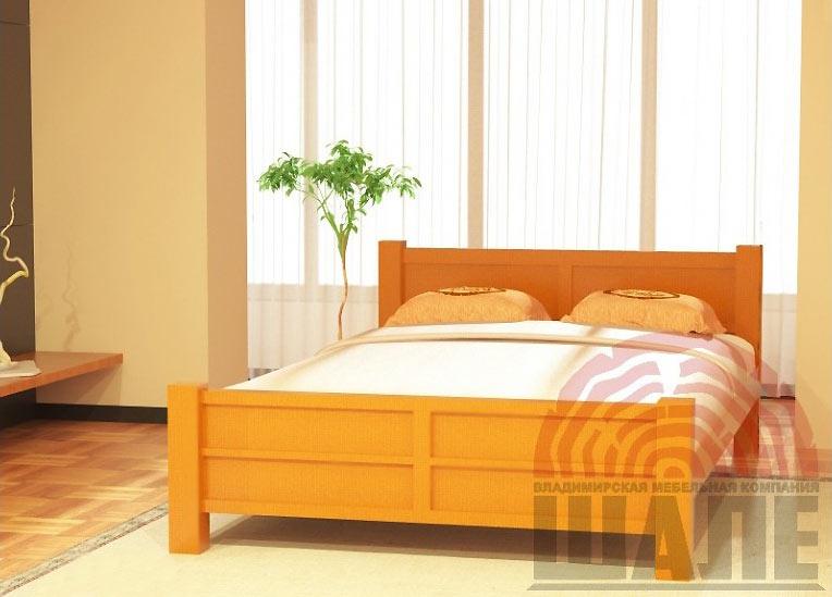 Деревянные кровати Шале