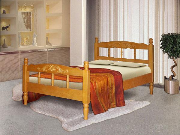 Какую кровать выбрать: кровать из сосны