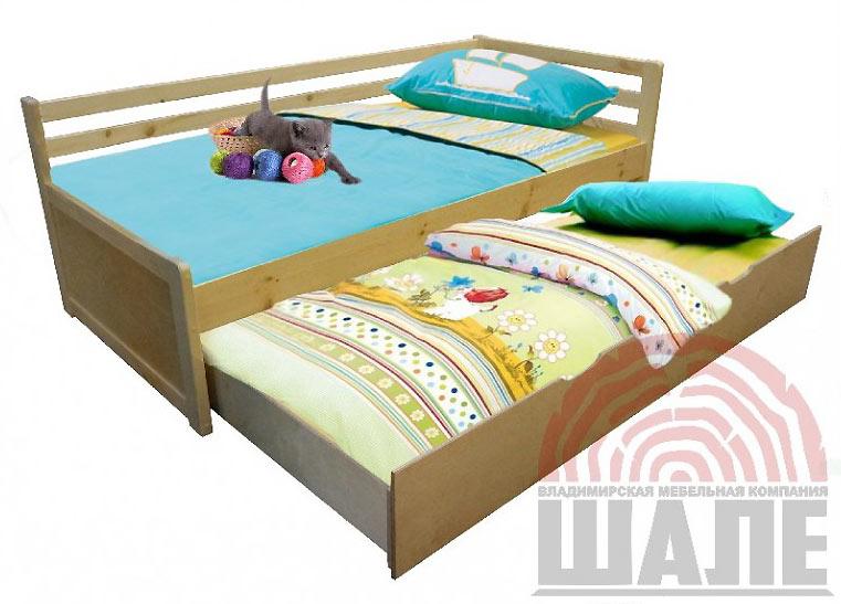 Кровать Шале Дуэт 1