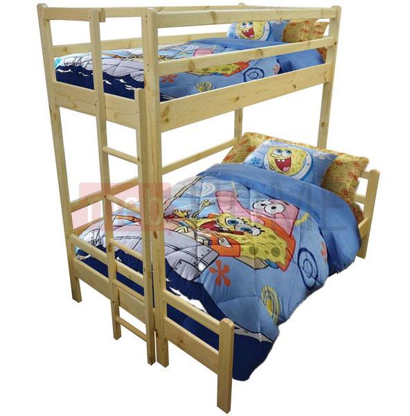 Кровать Шале Орленок (спальное место нижнего яруса 120)