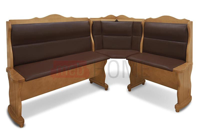 Угловой диван Себастьян Шале с баром (1100 мм) правый