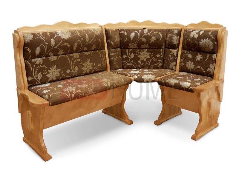 Угловой диван Шерлок Шале с обивкой (1100 мм) левый