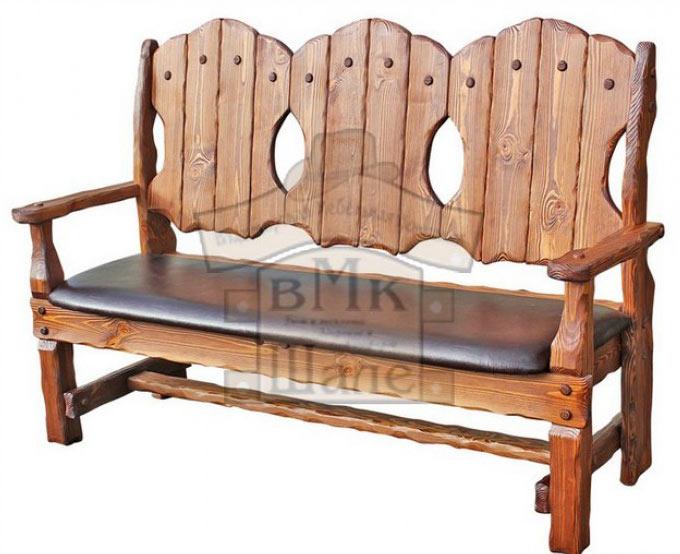 Скамья-кресло Шале Добрыня 1200
