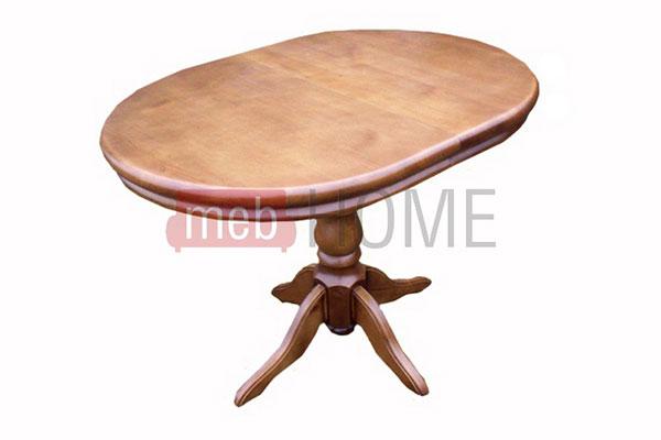 Обеденный раздвижной стол Майкрофт Шале, овальный