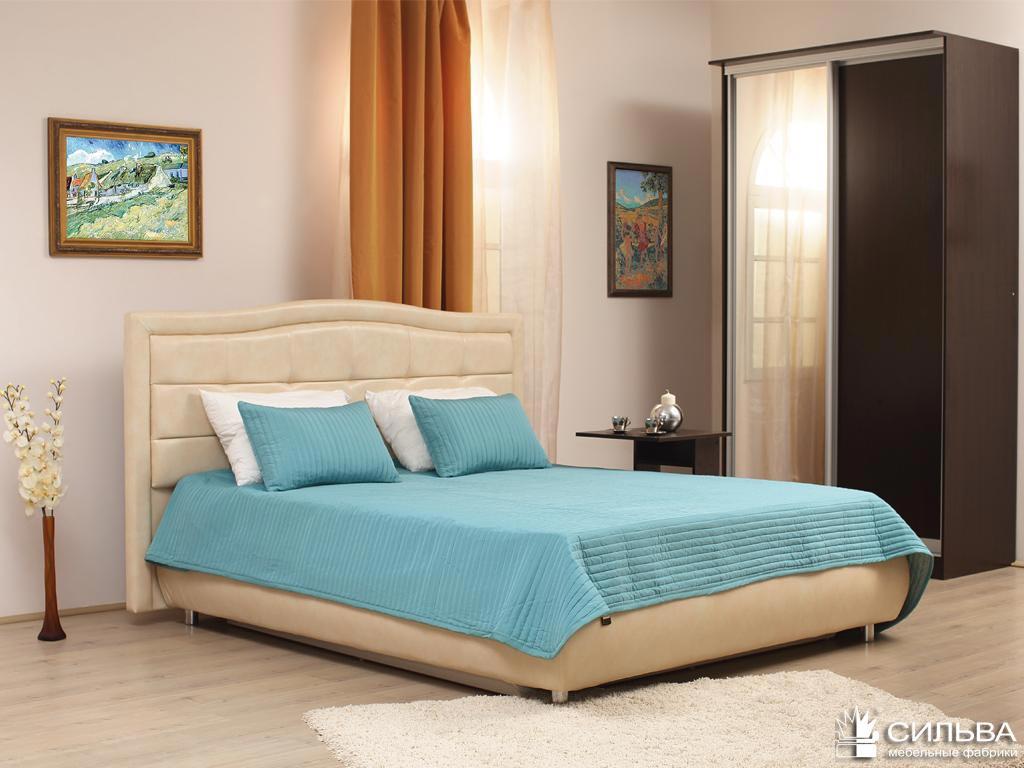 Кровать Сильва Каролина (санни)