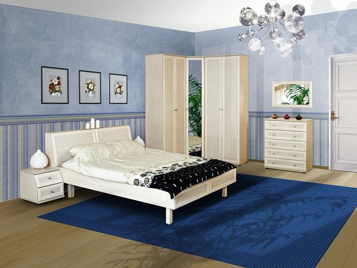 Синяя спальня (Детская Олимп Сканд)
