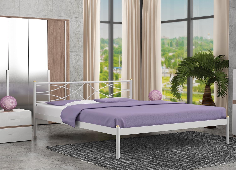 Кровать Стиллмет Экзотика (основание металл)