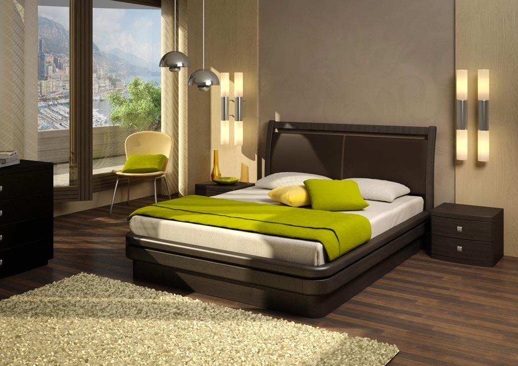 Кровать Торис Эва L11 (Стино) кожа