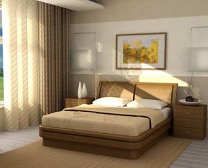 Кровать Торис Эва B4 (Рието)