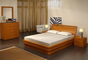 Кровать Торис Эва B5 (Кадео)