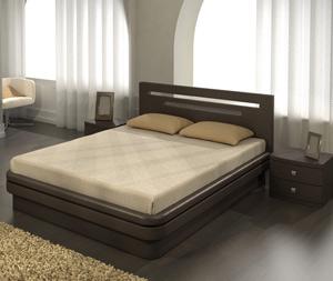 Кровати с подъемным механизмом  из массива