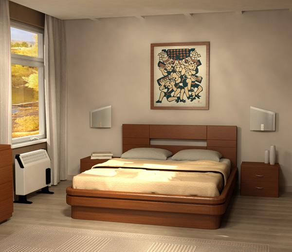 Кровать Торис Эва C2 (Ронвик)