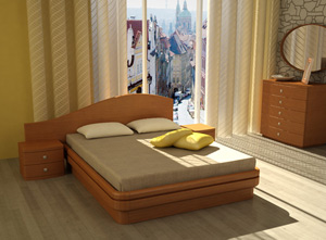 Кровать Торис Эва D4 (Бенар левый)