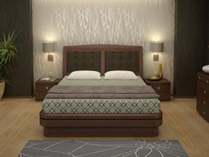 Кровать Торис Эва R2 (Палау) кожа