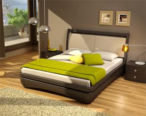 Кровать Торис Иона L11 (Стино) кожа
