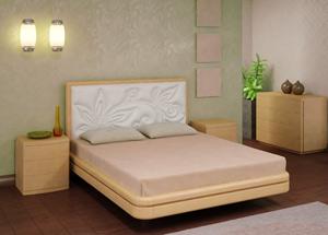 Кровать Торис Ита E4 (Эсти) экокожа