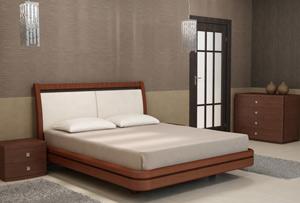 Кровать Торис Ита L11 (Стино) кожа