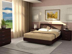 Кровать Торис МАТИ B4 (Рието)