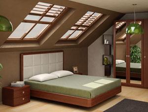 Кровать Торис Мати L2 (Виваре) кожа