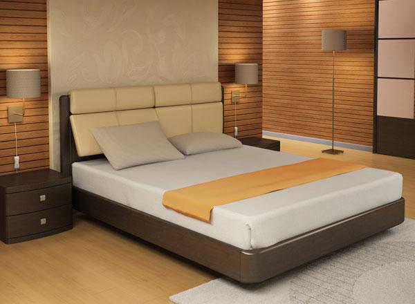 Кровать Торис Мати R1 (Сонеро) кожа