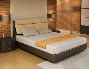 Кровать Торис Мати S1 (Сонеро) экокожа