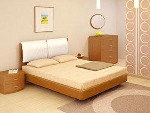 Кровать Торис Мати T2 (Мароне)