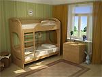 Двухъярусные кровати Миа