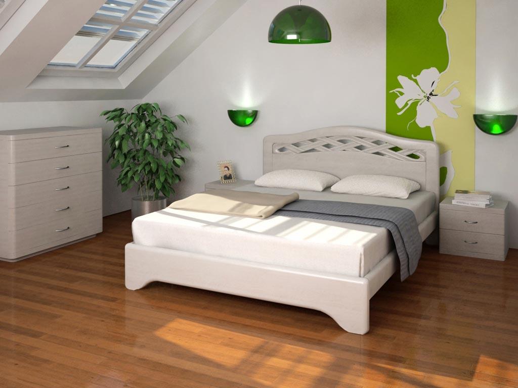 Кровать без изножья