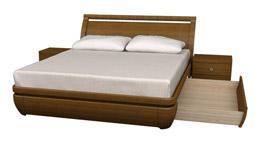 А во вторых ящики, расположенные под основанием кровати являются
