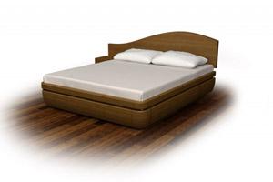 Кровать Торис Тау 1 D4 (Бенар) левый