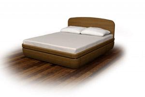 Кровать Торис Тау 2 D7 (Стати)