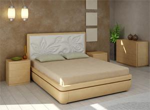 Кровать Торис Тау 1 E4 (Эсти) экокожа