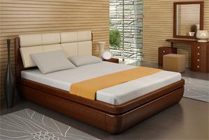 Кровать Торис Тау 1 S1 (Сонеро) экокожа