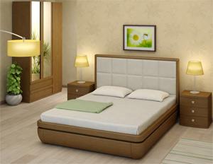 Кровать Торис Тау 2 E2 (Виваре) экокожа