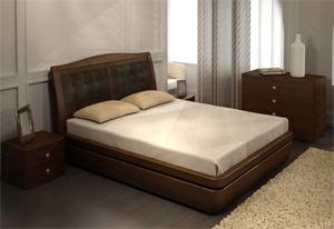 Кровать Торис Тау 2 S2 (Палау) экокожа
